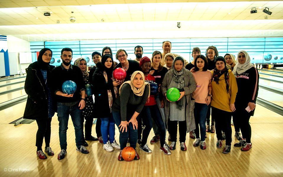 Bowling mit #BIKEYGEES