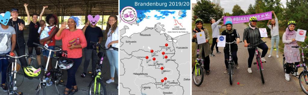 Standort-Übersicht Radfahrtrainings in Brandenburg und Teamspirit